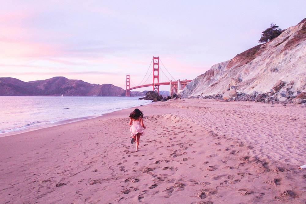 Marshall's Beach, San Francisco, California