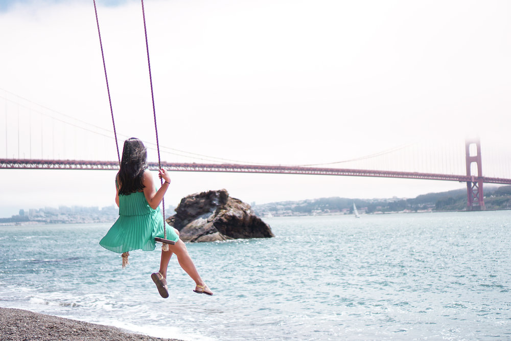 Kirby Cove Swing, San Francisco, California
