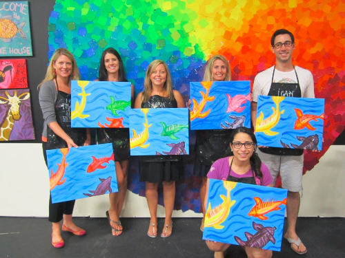 Spirited art richmond for Wine and paint orlando