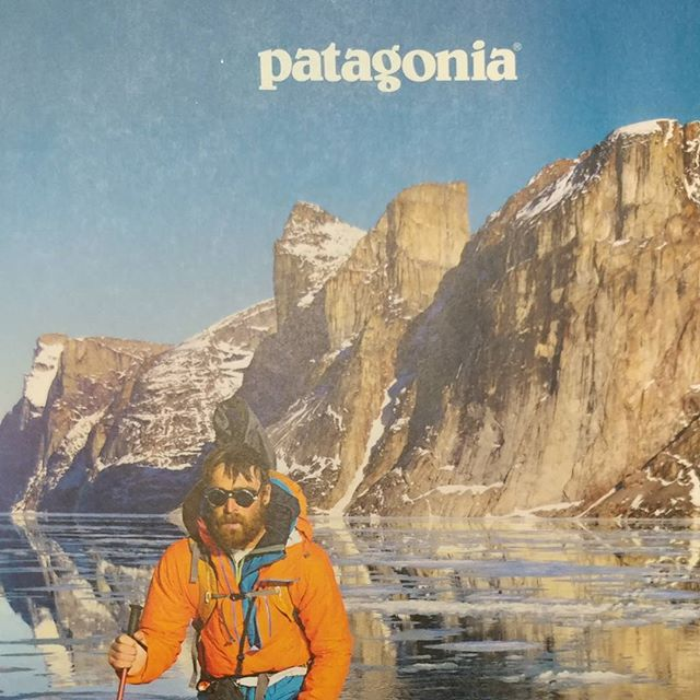 Made it to the cover of the @patagonia catalog!  #outdoors #rei1440project #optoutside