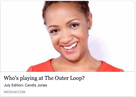 Profile about Candis' work in The Outer Loop