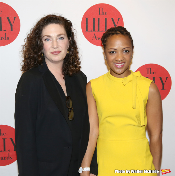 - Candis and playwright Julia Jordan at the 2016 Lilly Awards where Candis received the NY Women's Foundation emerging director's award.