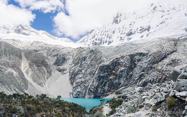 After the growling high altitude hike, it was great to finally set our eyes on Laguna 69. Have you completed a high altitude hike before?  Huaraz, Peru 🇵🇪 Hiking Laguna 69  #peru #hiking #laguna69