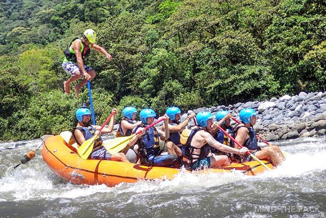 | | New Post | | Must do adrenaline activities in Baños – check out what we got up to with @imagine.ecuador From rappelling down the side of a waterfall, tackling the rapids of the Pastaza river and ziplining head first down in Puntzan, every moment was exhilarating.  #ecuador #whitewaterrafting #adventure