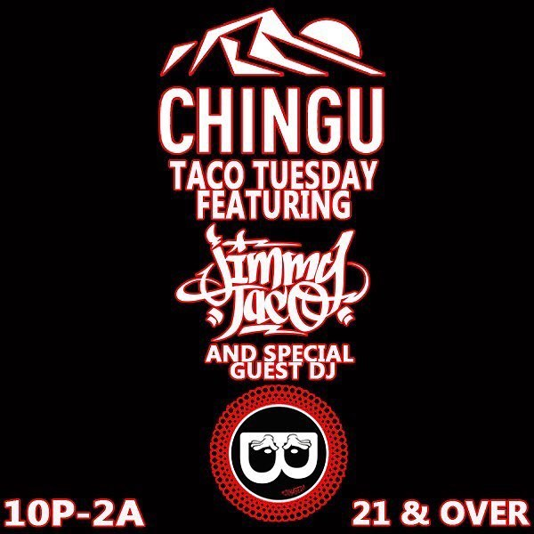 Join Us Tonight At @chinguhawaii For Another Edition Of @djmytaco Tuesday!!! 21+ x No Cover!!! Food, Dranks & Rotating Guest Selectahs Each Week!!! Fellow @1027dabomb Hitmixer @mixmasterb Throwing Down Da Guest Set Tonight!!!