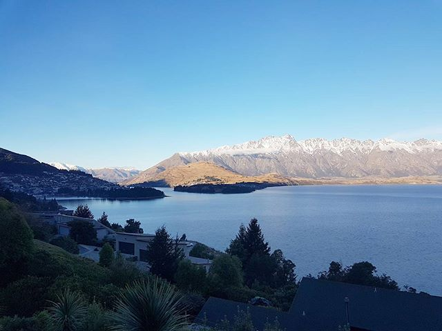Finish a job have a holiday. #queenstown