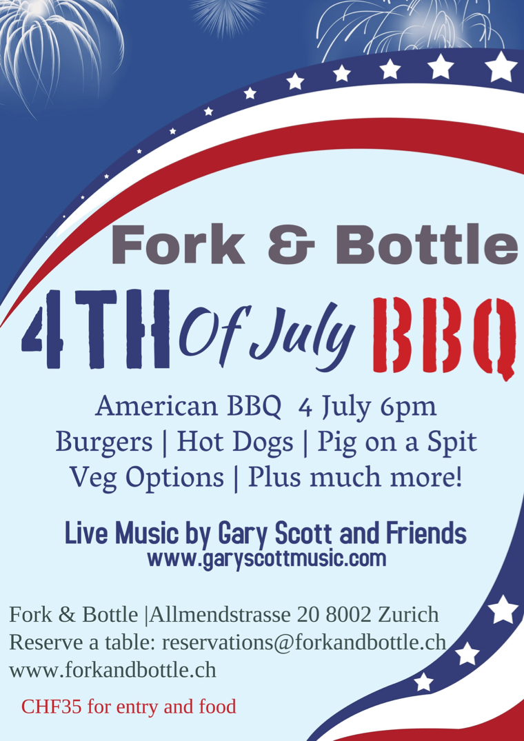 Summertime! - Come celebrate the 4th of July with great food and music!