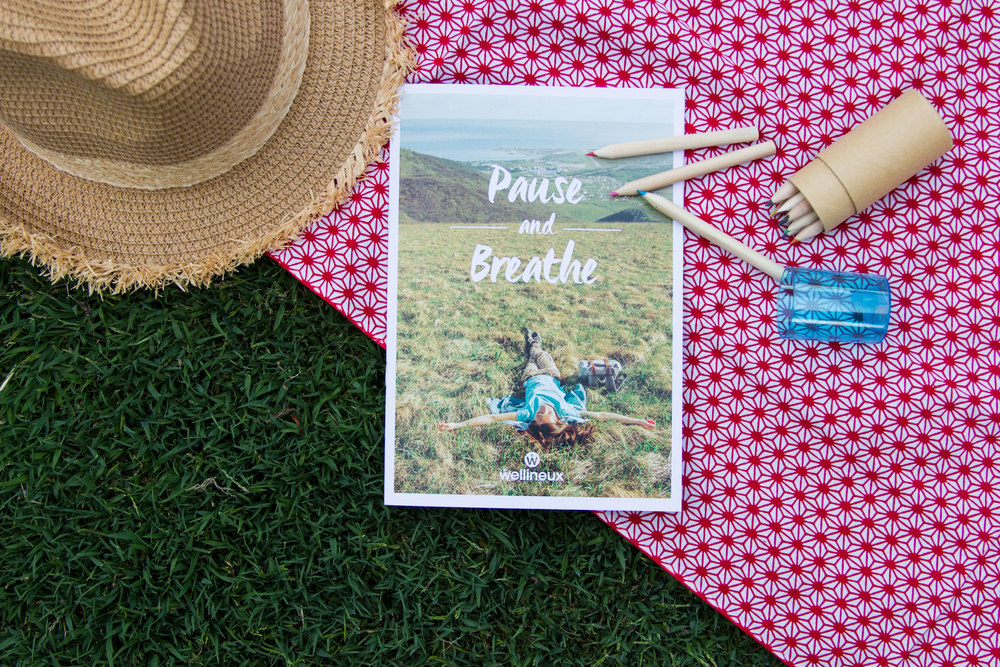 The Pause and Breathe Mandala Playbook:It is so important to step back for a moment and reflect on what you want in life.. you can do so by getting creative! Image credit: Wellineux.