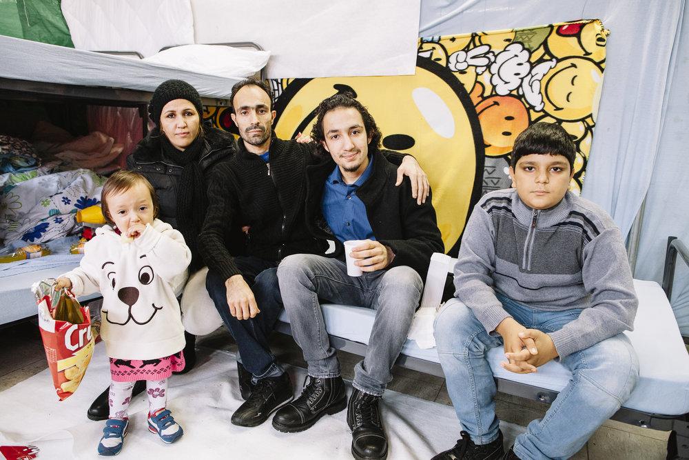 Ahmad Familie/ Ahmads family