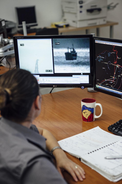 GPS System Marine Hauptquartier, Constanta
