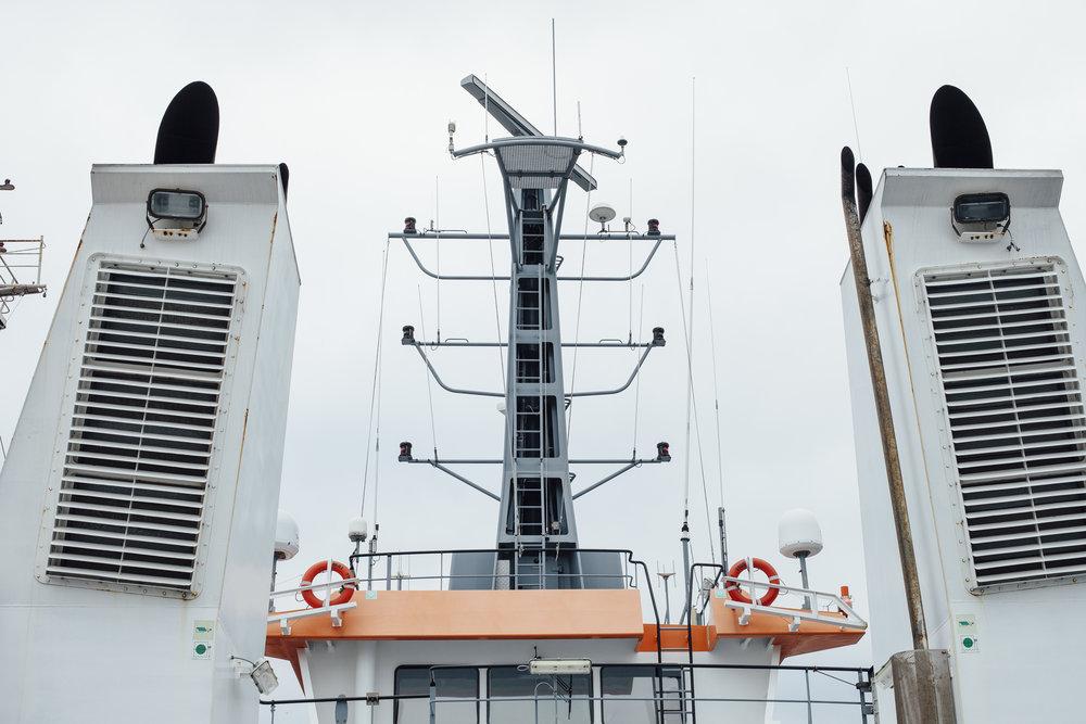 Radaranlage OPV (Offshore Patrol Vessel) 6610, Constanta