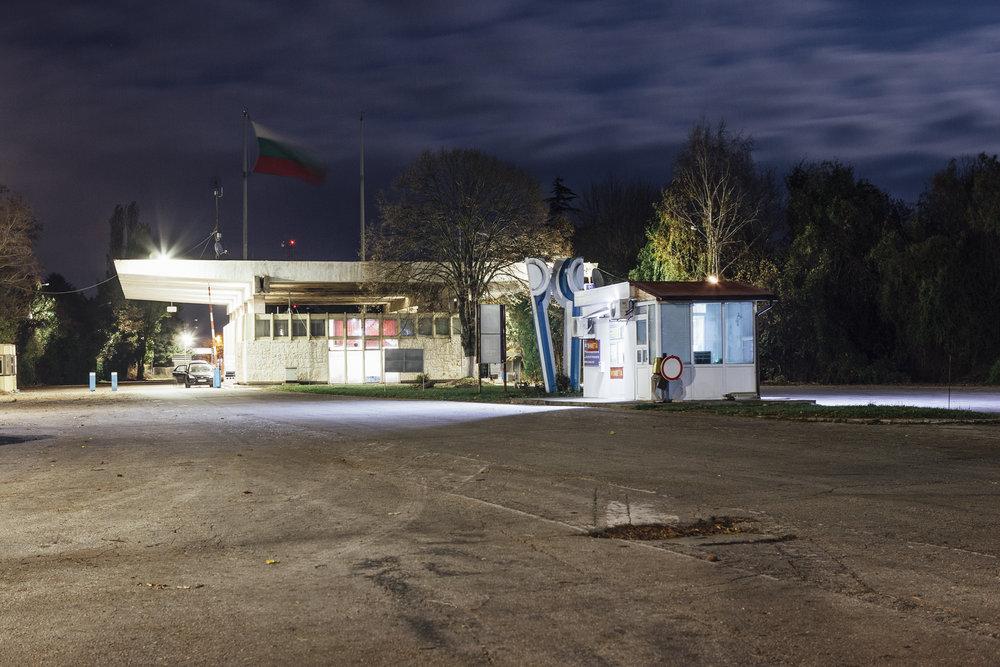 Grenzübergang von Bulgarien nach Rumänien Durankulak