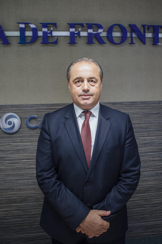 Marcel Ardelean, Chef der rumänischen Grenzpolizei Hauptquartier der Grenzpolizei, Bukarest