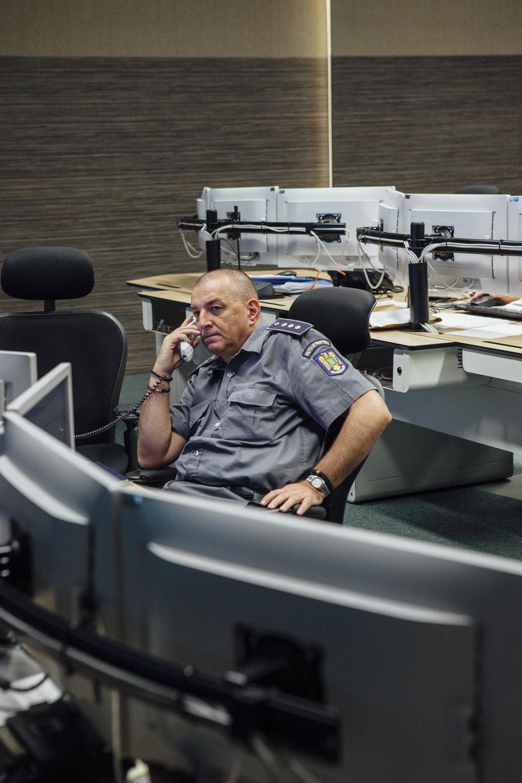 Überwachungszentrale Hauptquartier der Grenzpolizei, Bukarest