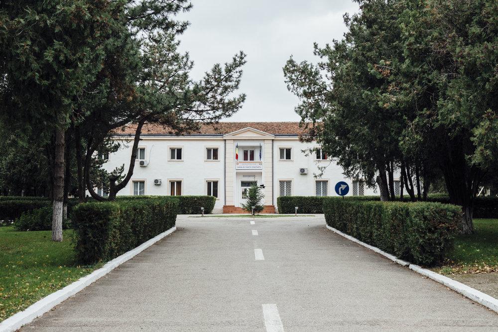 Einfahrt Marine Hauptquartier, Constanta