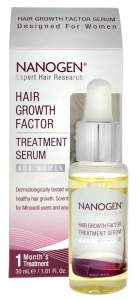 For thicker hair: Nanogen