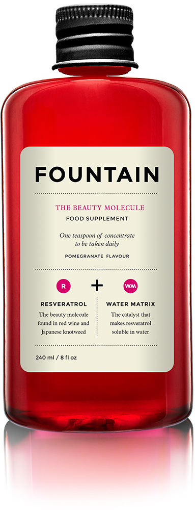 Drink yourself beautifult: Fountain