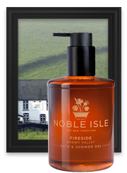 Fireside candle: Noble Isle