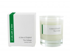 Green and pleasant: English Cottage Garden candle