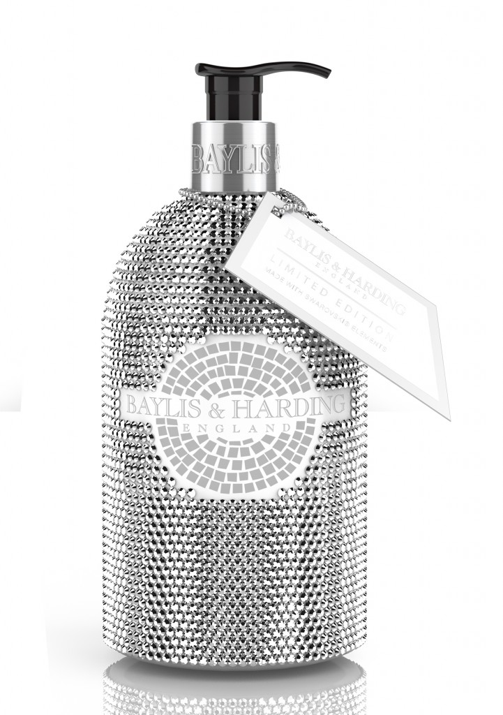 For a moment of madness: Bayliss & Harding Swarovski handwash