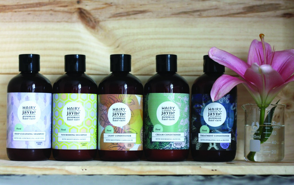 Care for your hair: Hairy Jayne handmade hair products