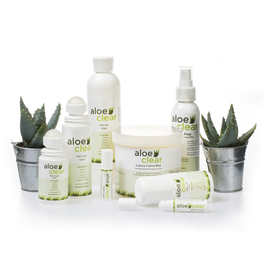 Soothing powers: Aloe Clear