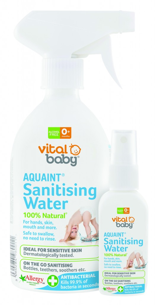 Gentle, sanitising water: Aquaint