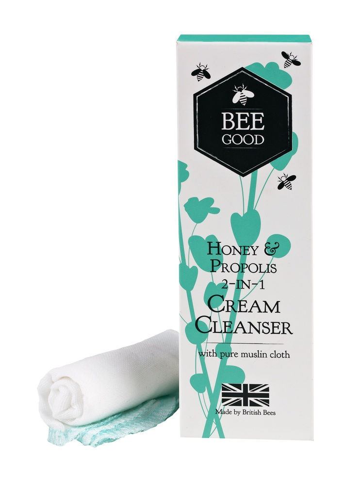 Beauty products from British bees: Bee Good.
