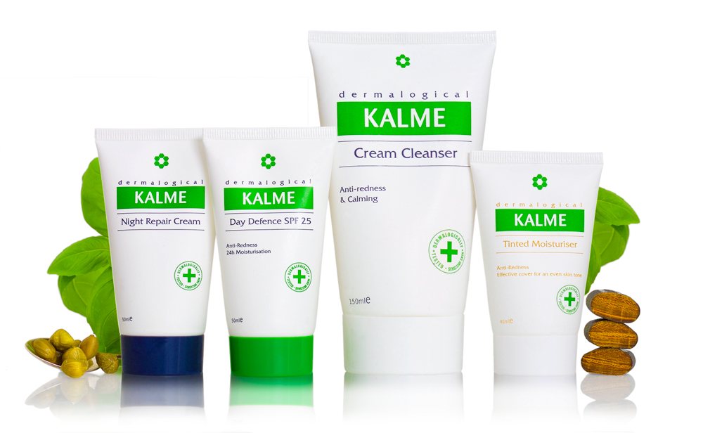 Formulated to soothe and protect reactive skin: Kalme
