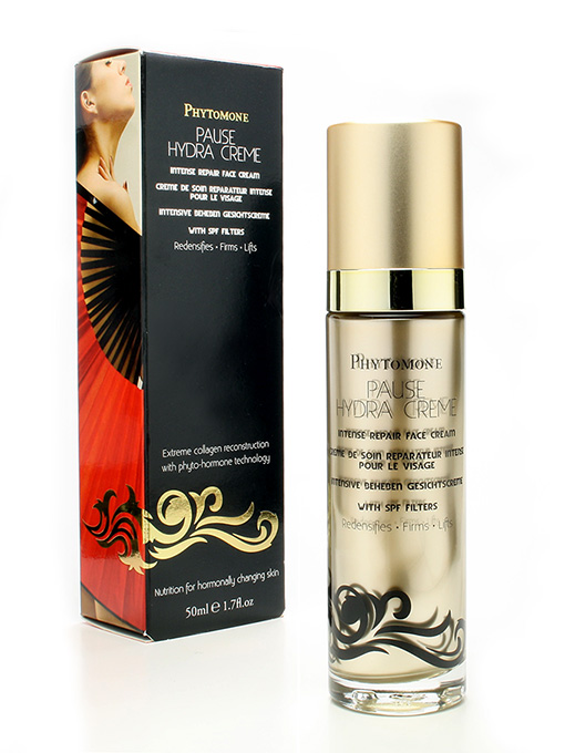 For menopausal skin: Phytomone