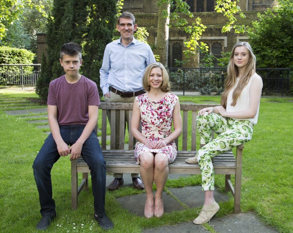 Rob (son), Alice, Matthew (husband), Beth (daughter)
