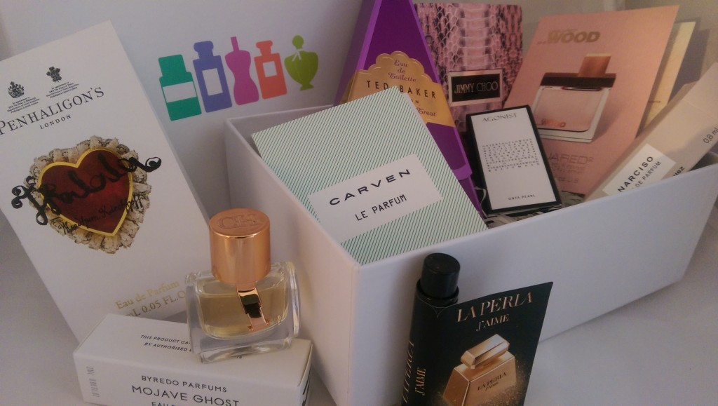 Treasure-trove of samples from the Perfume Society