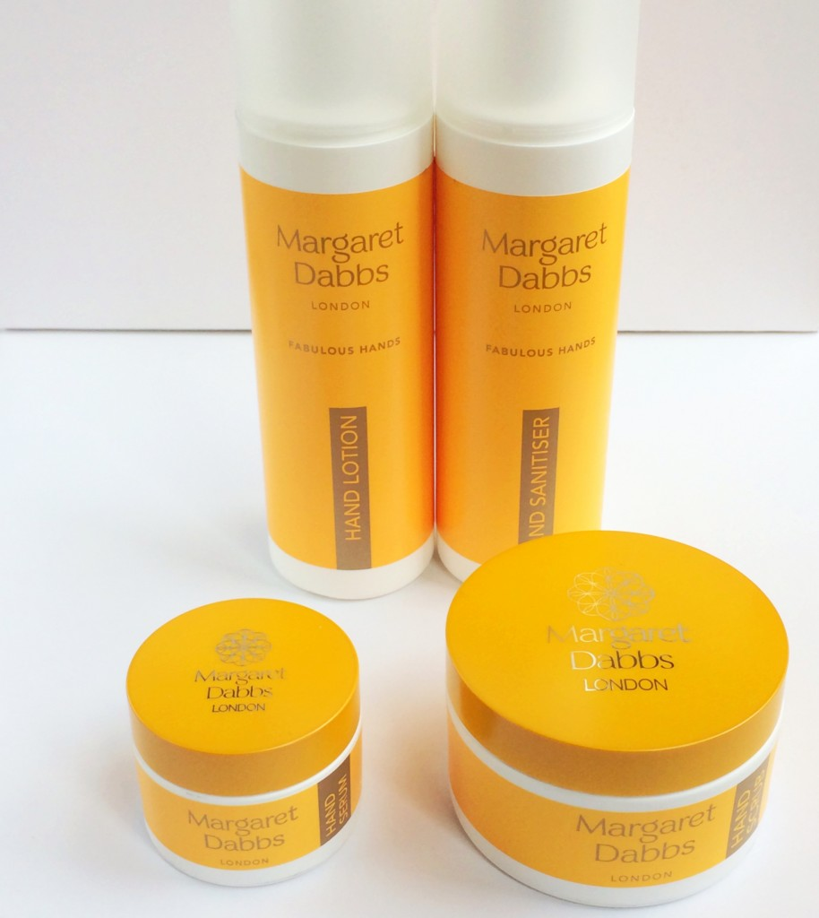 Fabulous Hands: Margaret Dabbs' new hand-care range