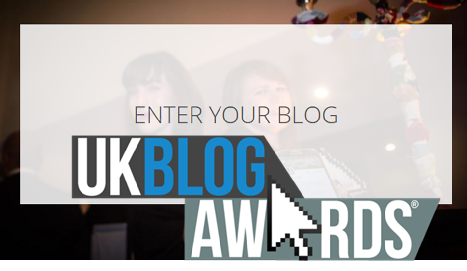 There's one more week to enter your blog for the UK Blog Awards