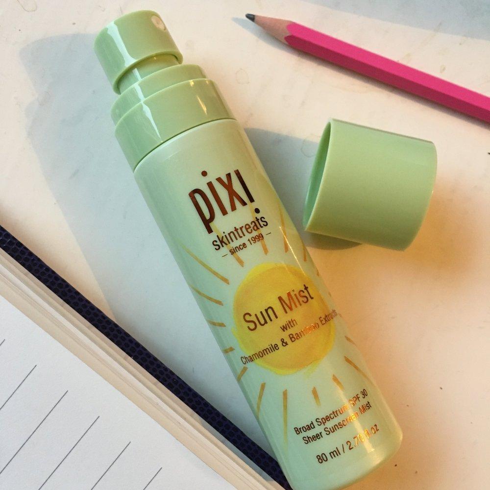 Pixi's take on spray-on sunscreen.