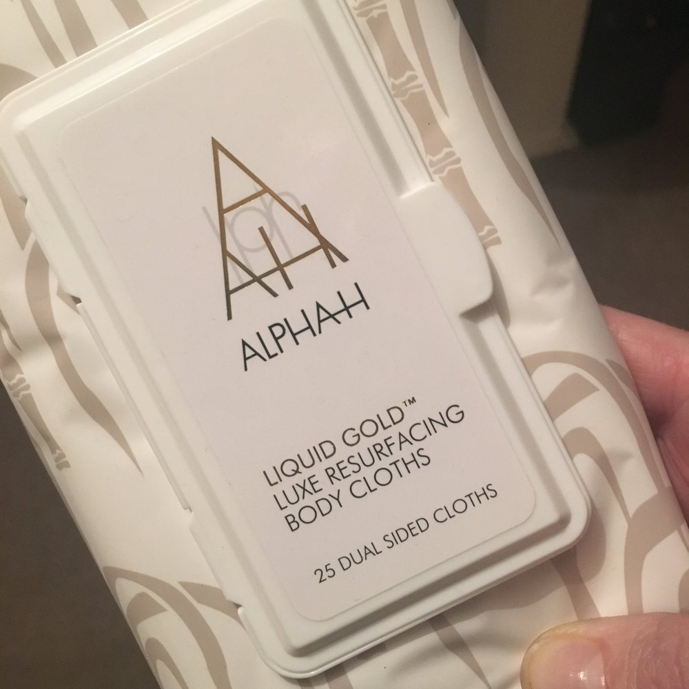 Liquid Gold from Alpha-H - now there's a version for the body.
