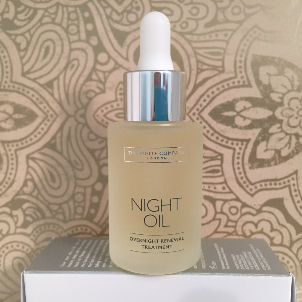 Helping to detox the skin overnight: The White Company Night Oil