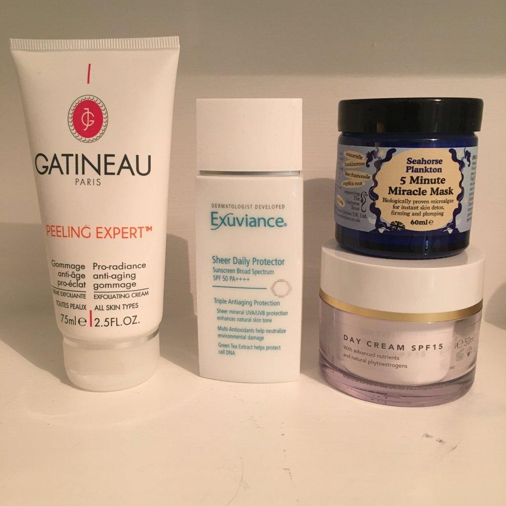 Exfoliating, plumping, moisturising, protection: spring skincare sorted