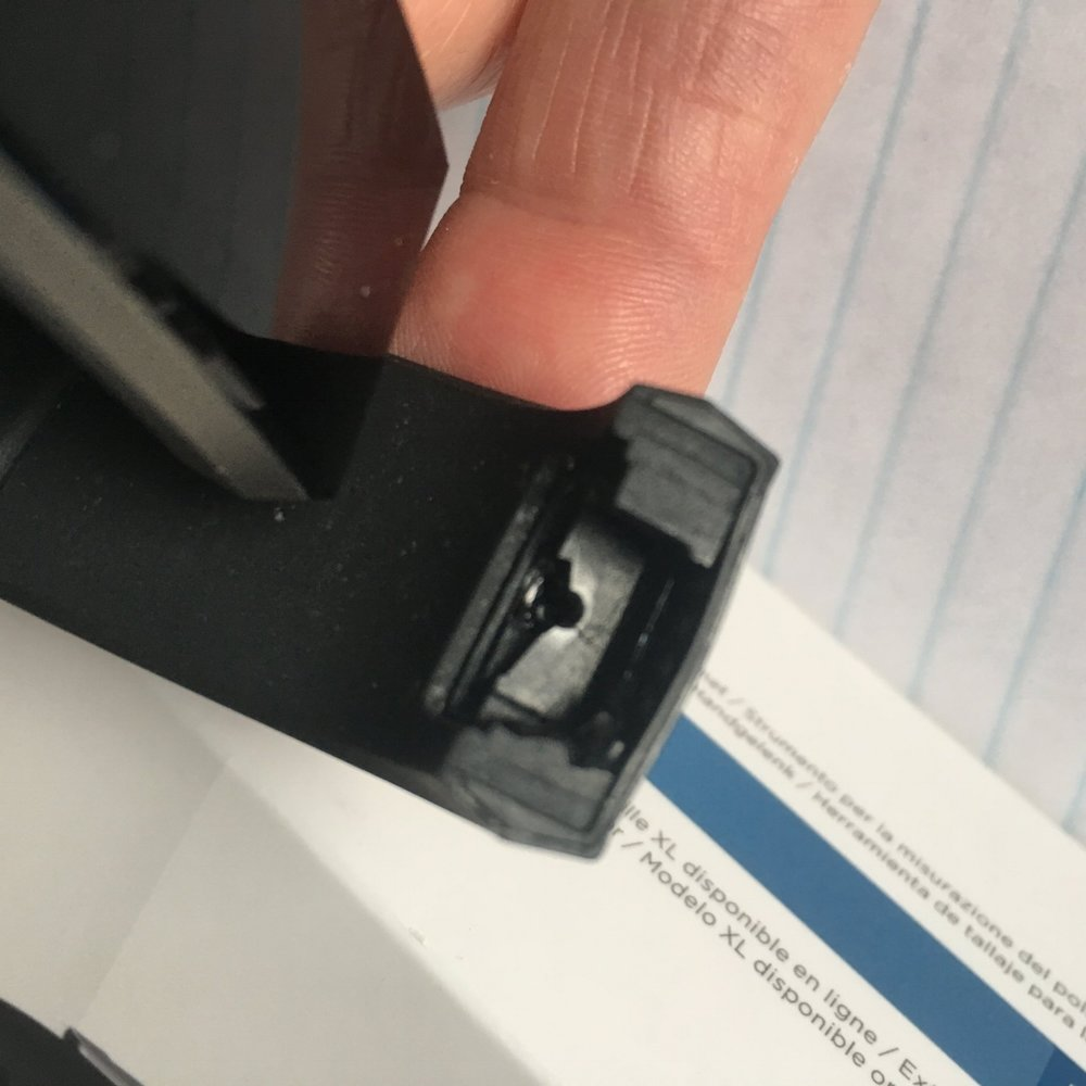 Fitbit no 3 bites the dust in January - the bits that hold the strap in are too fragile