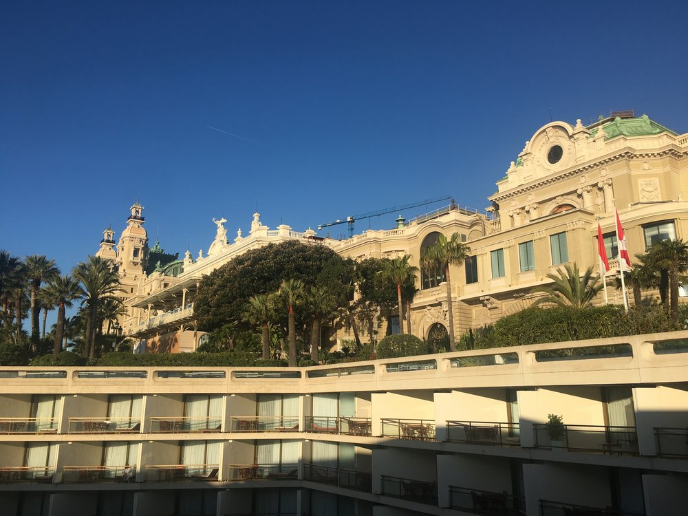 It's steep, it's busy, it's hugely expensive - but isn't Monte Carlo gorgeous?