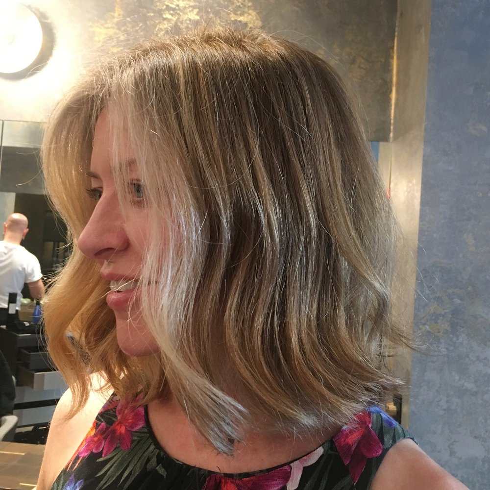Shiny, natural-looking dark blonde -  bespoke herbal colour by Gennaro dell'Aquila