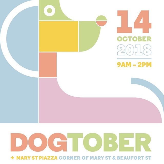 happy #dogtober day!!! YES our market is still going ahead today. Come along to the Mary Street Piazza and bring your doggos!! The dog show starts at 11.30!! See you soon! 🐶🐶🐶🐶🐶🐶🐶🐶🐶🐶🐶