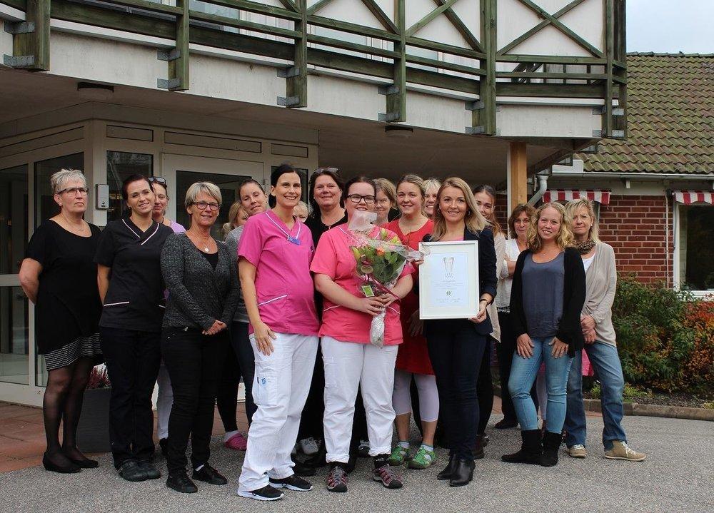 Grattis till personalen på Sörbygården i Hedekas!