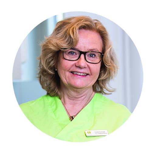 Gunilla Fornmark   Klinikchef & leg. Tandläkare