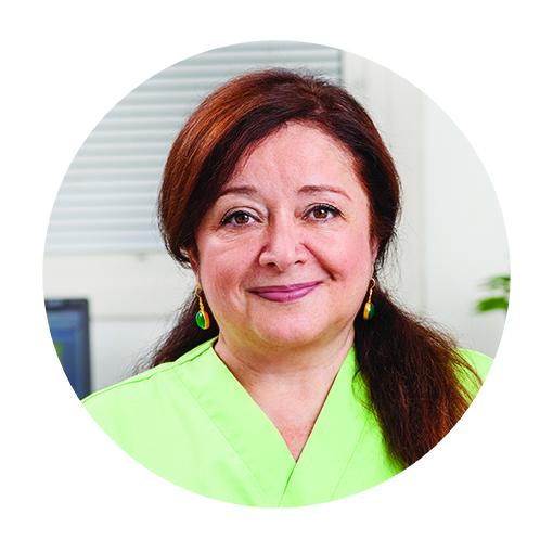 Azita Baradaran   leg. Tandhygienist/ Tandsköterska