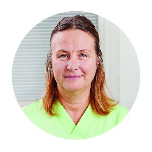 Catrin Wickberg   Tandsköterska