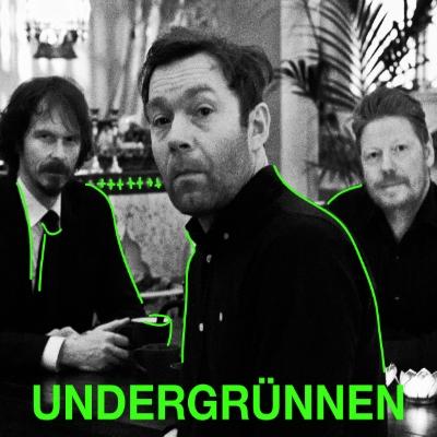 Undergrünnen består av veteraner fra bl.a. Wunderkammer og The Low Frequency In Stereo. Den kritikerroste og spellemannsnominerte trioen blir beskrevet som et møte mellom primitiv rock/ garasjerock, afrobeat og krautrock.