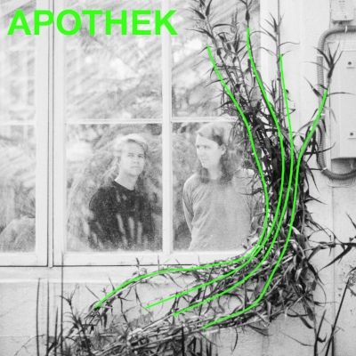 Apothek er prosjektet til produsent Nils Martin Larsen og låtskriver Morten Myklebust. Sammen kombinerer de intrikat, cinematisk pop med klassisk låtskriverkunst.