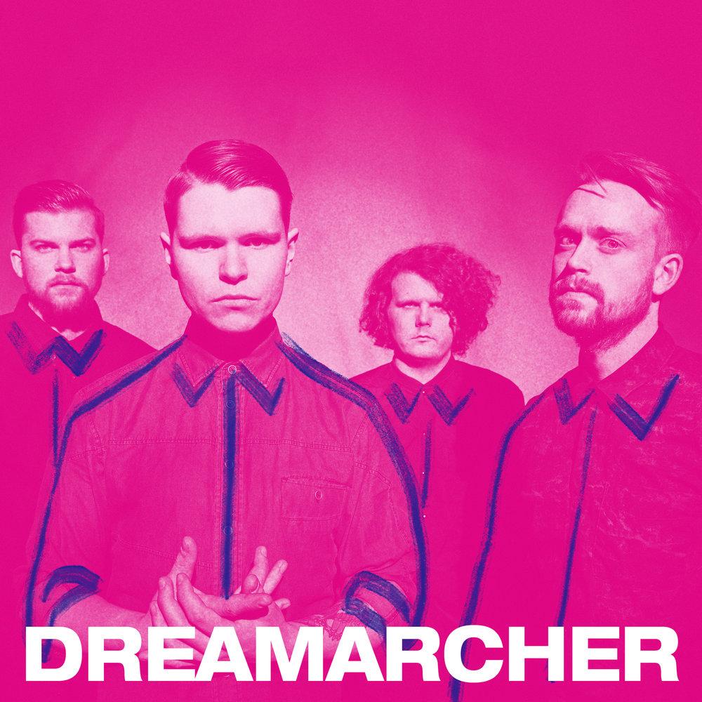 Dreamarcher kommer fra ville Hardanger, og musikken bærer preg av masjestetiske fjell og råtnende forlatte fabrikklokaler. Med sin voldsomme musikk og kreative stilblandinger har de høstet glitrende tilbakemeldinger og er snart klare med sitt andre album.