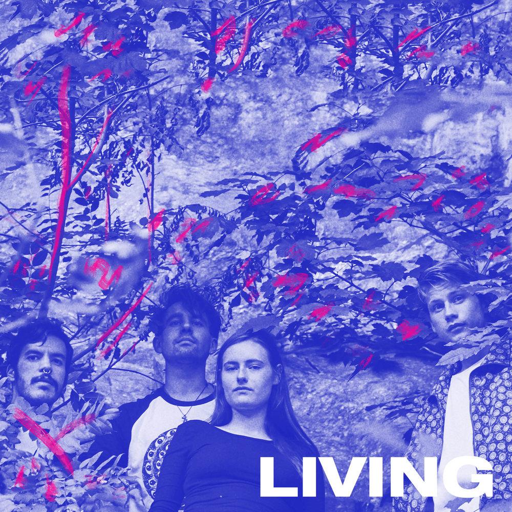 Living er prosjektet til den brasilianske produsenten og kunstneren Lucas de Almeida. Sammen men Nora Tårnesvik (bass), Sturla Kverneng (trommer) og James Kalinoski (samples) spiller de en type dansebar psykedelisk pop. Bandet har gitt ut EP og singler, og er snart klare med plate.